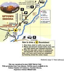 Sedona Map Sedona Main Street Best Event