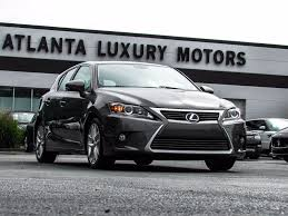 lexus hybrid car tax 2014 used lexus ct 200h 5dr sedan hybrid at alm gwinnett serving