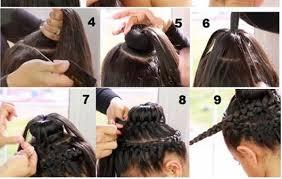 howtododoughnut plait in hair double crown braid with doughnut bun hairstyle tutorial alldaychic