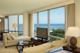 trump living room trump international hotel waikiki beach walk deluxe 2 bedroom