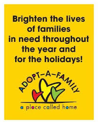 a place called home adopt a family for the holidays