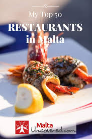 cuisine as top 50 best malta restaurants and out guide
