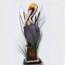 pelican art sculpture 36 u0027 u0027 wood carving pelican