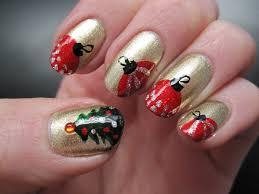 christmas tree nails christmas manicure youtube