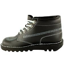 boots sale uk ebay womens kickers kick hi leather office work ankle boots