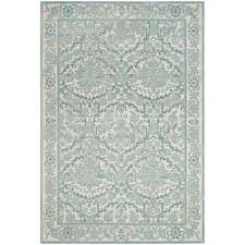 Gray Green Rug Light Blue And Brown Area Rug Roselawnlutheran