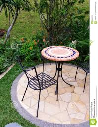 Iron Patio Table With Umbrella Hole by Patio Furniture Small Square Patio Table Cover Set With Umbrella