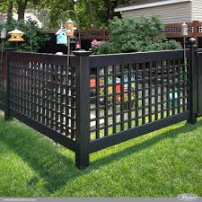 garden fences ideas 12 amazing low maintenance fence ideas illusions vinyl fence