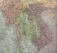 Map Of Cambodia Maps Of The Thai Cambodian Border U0026 Refugee Camps