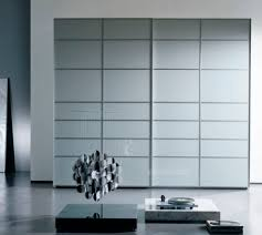 glass slide doors contemporary wardrobe glass lacquered glass sliding door