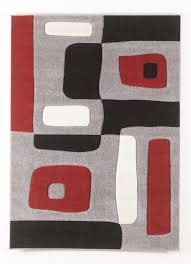 Floor Rugs by Contemporary Area Rugs Geo Red Medium Rug By Signature Design By