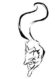 tribal fox by elemental war on deviantart clipart library