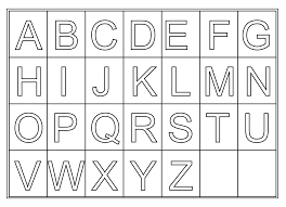 worksheets on letters for preschoolers printable coloring point