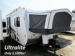 jayco ultra light travel trailers haylettrv com 2012 jay feather ultralite x17z used hybrid travel