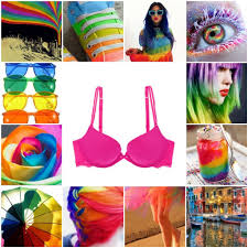 Pink Color Wheel by A Kaleidoscope Of Colors Mood Board Brayola