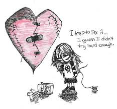 broken heart by mooquie on deviantart