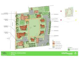 site plan site plan bristol cohousing