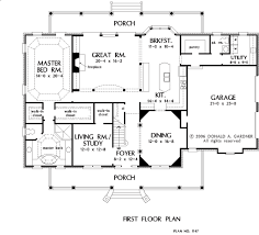 donald gardner floor plans home plan the hartswick by donald a gardner architects