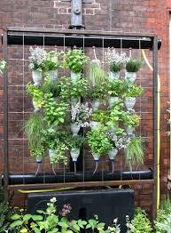 How To Build A Vertical Garden - the perfect diy vertical garden pyramid planter home depot