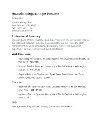 hospital resume exles great hospital housekeeping supervisor resume sle for