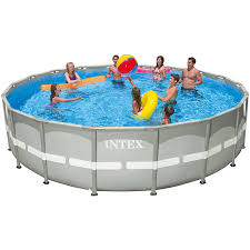 Intex Pools 18x52 Top Rated Products In Easy Set Swimming Pools