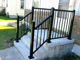Metal Porch Railing Metal Porch Railing And Patio Railings 1