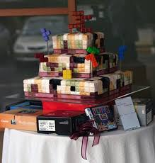 20 outrageous wedding cakes that are geeky sweet