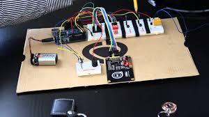garage door opener circuit arduino rfid garage door opener youtube