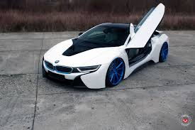 Bmw I8 Matte Black - amazing looking bmw i8 with vossen vps 301 forged wheels my car