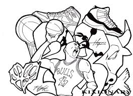 michael jordan coloring pages for kids shoes archives with michael