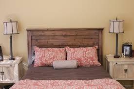 bedroom captivating diy wood headboard image of fresh on