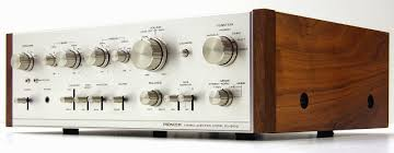 pioneer amplifier home theater golden age of audio pioneer sa 8100 vintage stereo amplifier