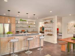 open kitchen cabinets are easier to handle