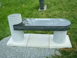 granite monuments custom memorial benches granite benches smet monuments