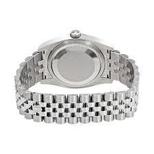 rolex bracelet white gold images Rolex datejust 36 bronze waves dial steel and 18k white gold men 39 s jpg