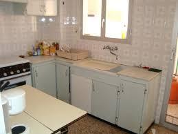 repeindre meuble cuisine mélaminé relooker un meuble en melamine repeindre cuisine avant apres