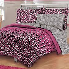 Cheetah Home Decor Formidable Pink And Black Cheetah Bedding Wonderful Home Decor