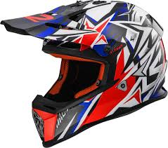 red bull motocross helmets ls2 fast mx437 strong motorcycle motocross helmets white blue