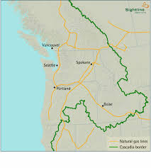 Gas Map Map Of Natural Gas Pipelines In Cascadia Sightline Institute
