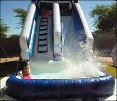 party rentals az water slide rentals in rent water slide in