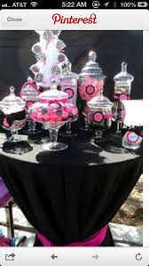 Pink And Black Candy Buffet by 34 Best Danielle U0027s U0027sweet 16 U0027 Party Images On Pinterest Sweet
