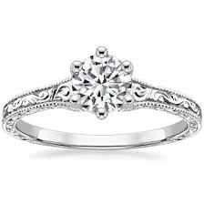 solitaire engagement ring solitaire engagement rings brilliant earth