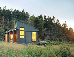 building the ultimate green home outside online most of the materials for the home were gathered on the mainland shipped to the building site on an amphibious truck and then moved to the job site on a
