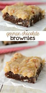 german chocolate brownies crazy for crust