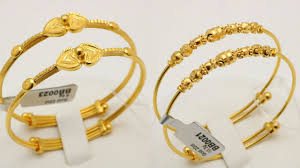 bracelet gold bangle images Baby gold bangles bracelet designs with weight jpg