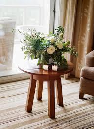 organic garden wedding seascape flowers