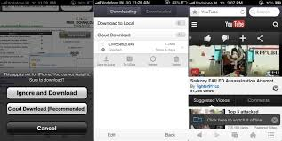 uc browser now allows ios users to download and store files in the