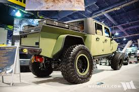 jeep diesel conversion 2016 sema line x jk crew bruiser conversions jeep wrangler