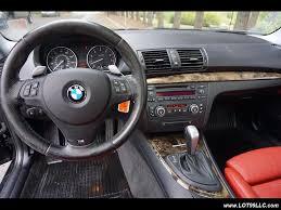 bmw red interior 2008 bmw 135i turbo sport premium cold pk red interior 85k for