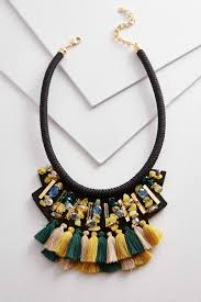 bib necklace beaded images Versona beaded fabric bib necklace jpg